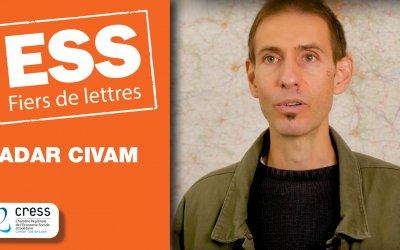 ADAR CIVAM : Portraits ESS Fiers de lettres