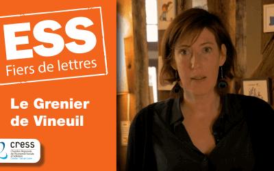 Le Grenier de Vineuil : Portraits ESS Fiers de lettres
