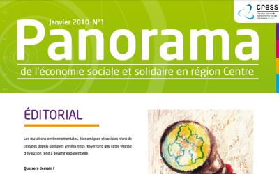 Panorama n°1 de l'Économie Sociale et Solidaire en Région Centre