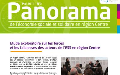 Panorama n°3 Étude exploratoire sur les forces et les faiblesses de l'ESS en région Centre