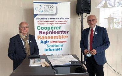 Communiqué : monsieur Jean-Louis Desnoues a été élu Président de la CRESS Centre-Val de Loire