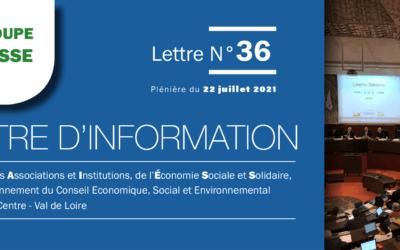 La lettre N°36 du Groupe AIESSE du Ceser