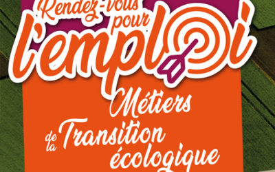 Participez aux RDV des métiers de la Transition Ecologique